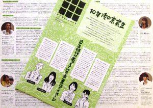 瓦版増刊号発行!【10年後の京芸生】