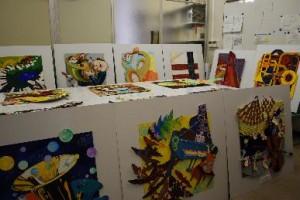 【北山駅のアート作品展示第2弾!】地下鉄北山駅における学生作品展示
