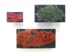 栗本夏樹 漆造形展 —漆+和紙ー