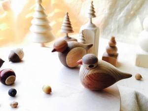 大矢一成 木工展「小鳥の森の冬支度」