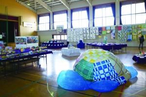 京都芸大「境谷小学校レジデンス」 京都市立境谷小学校 平成25年度作品展
