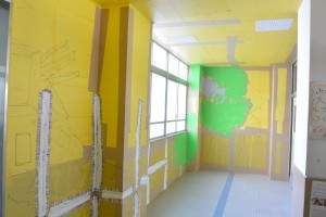 境谷小学校壁画作品