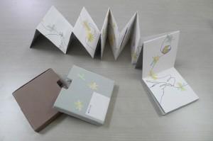 「種田山頭火の俳句から発想した絵本」展