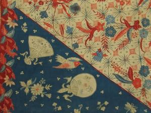 芸術資料館収蔵品展「歴史の贈り物」 第1期  「更紗 -インドネシアの蝋染-」