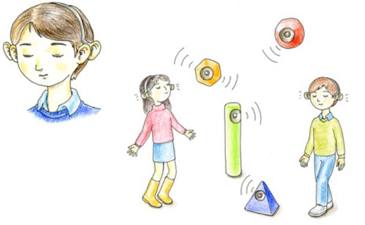 [学生作品][構想設計]The enhanced ears ~共感の設計ワークショップ~