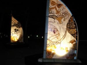 京都・東山花灯路2012 『大学のまち京都・伝統の灯り展』