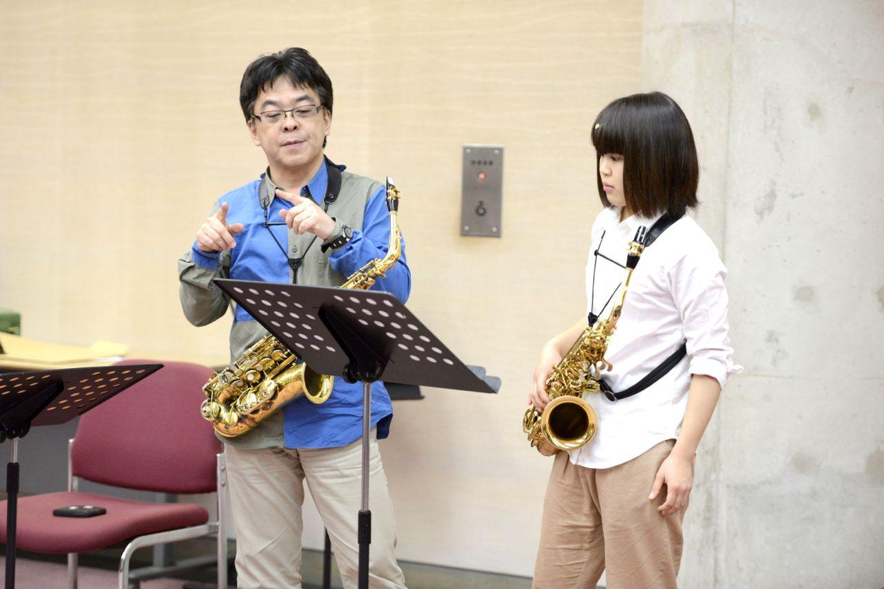 福田彩乃さん(管・打楽専攻1回生)